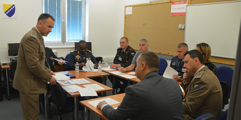 Orientation Course for Defence Officials for Western Balkan Countries 2021